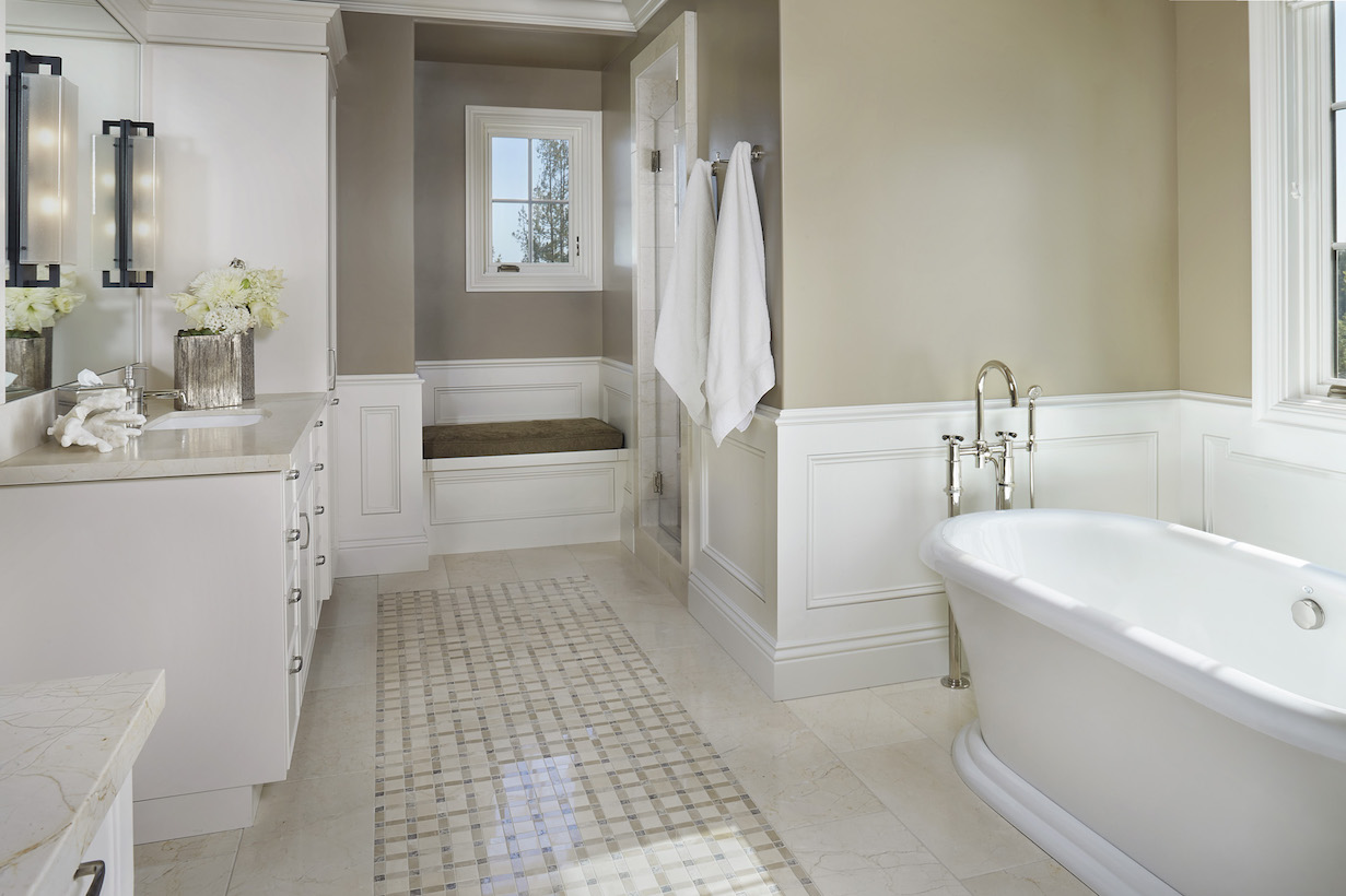 los altos interior design company master bathroom - Bathroom Design Company