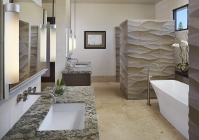 Bathroom interior Bay Area
