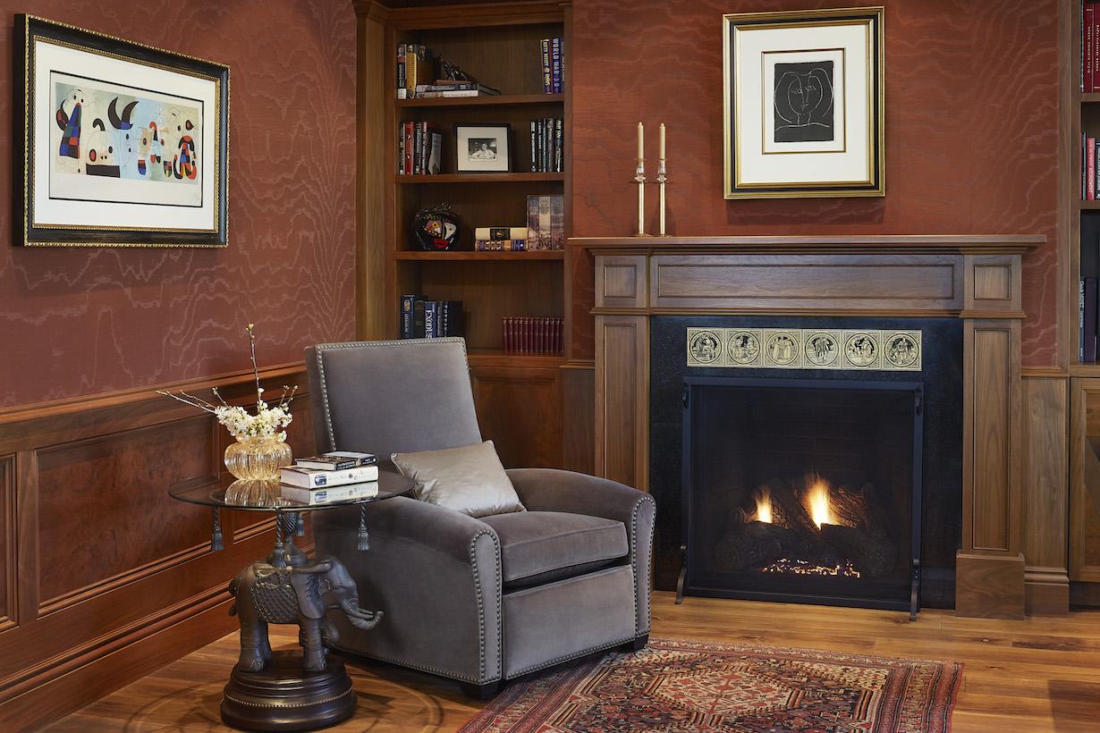 Los Altos Interior Design Company Great Room