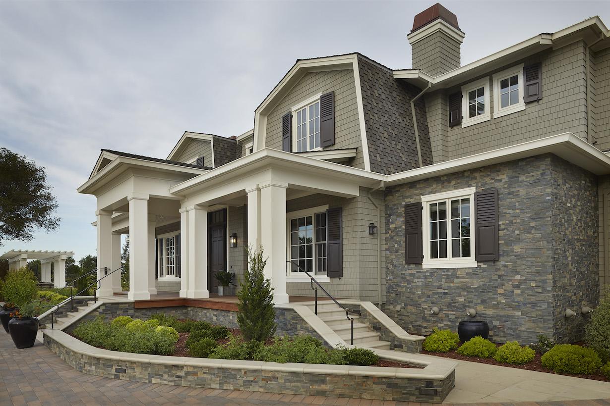 Exterior Designs Los Gatos Bay Area Vivian Soliemani Design Inc