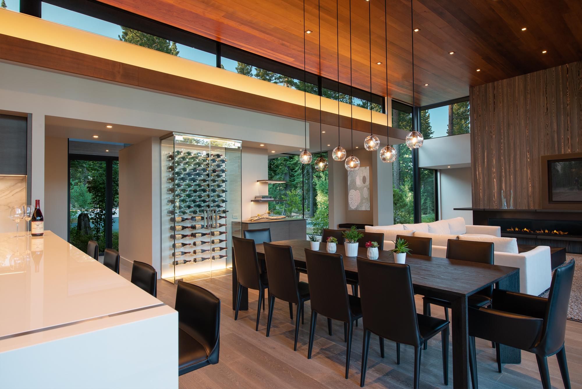 Great room designs los gatos bay area vivian soliemani - What is interior design ...