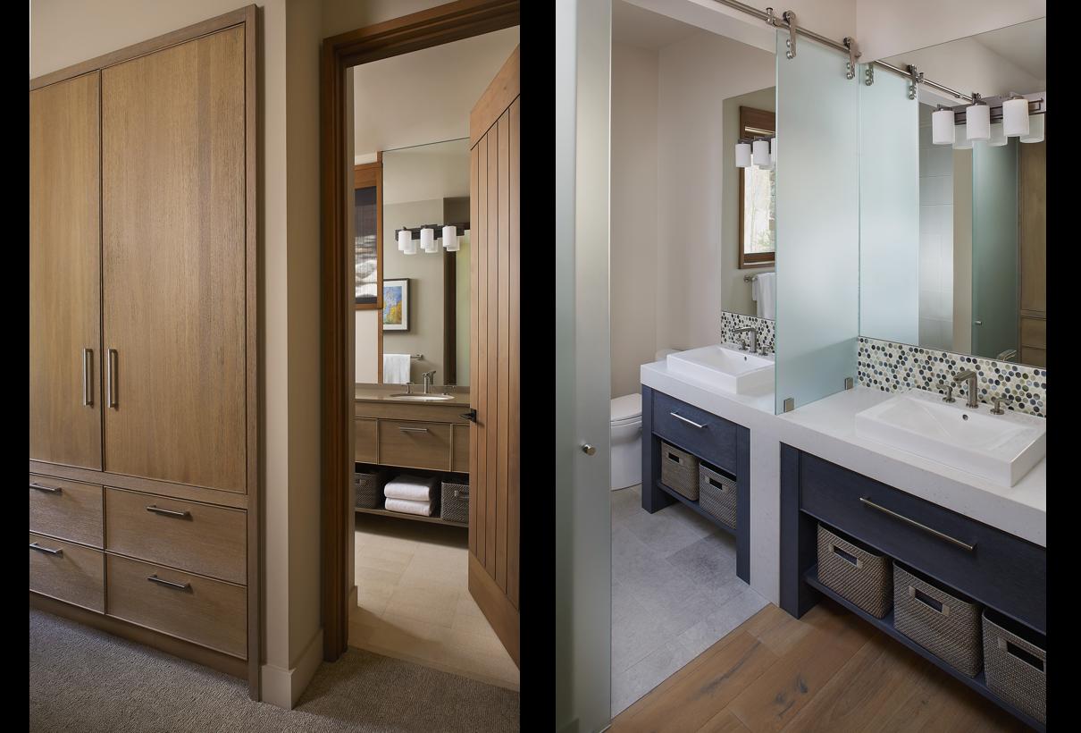 Lake Tahoe Interior Design Bathrooms