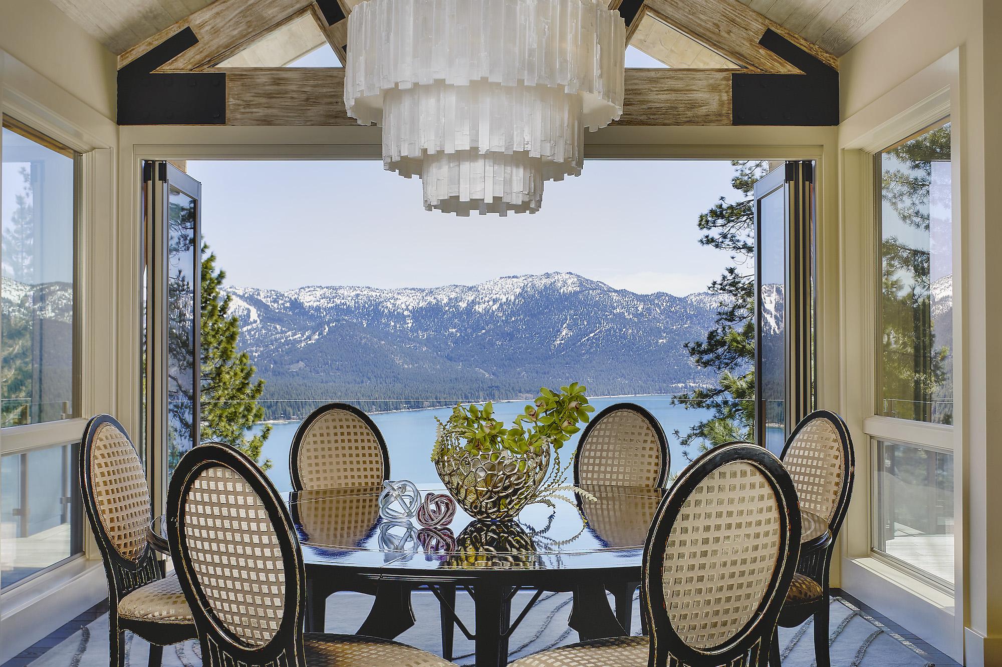 Lake Tahoe Dining Interior Design