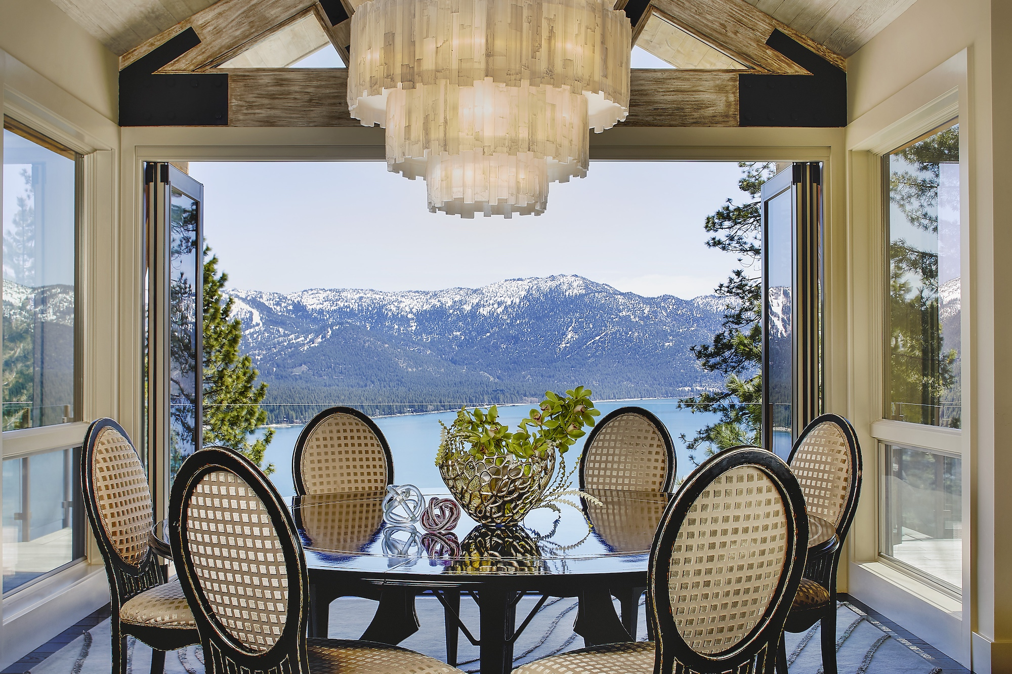 Lake Tahoe Dining Room Interior Design
